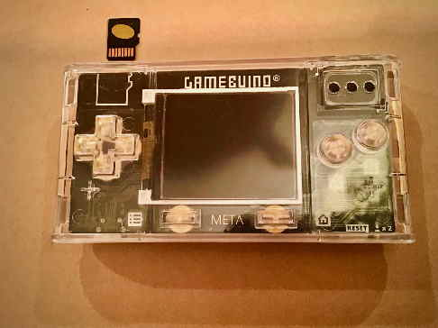 5 - replug gamebuino